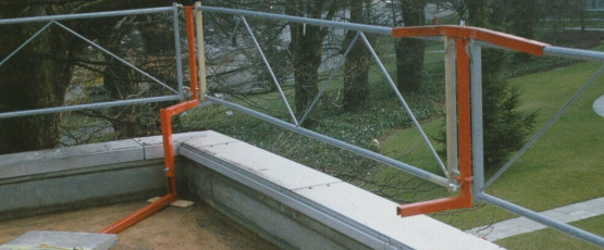ProtectToit, protection latérale pour toit plat